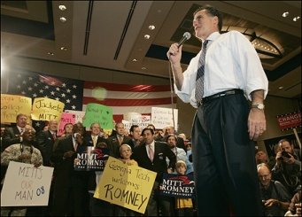 Romney in Georgia (click to enlarge)