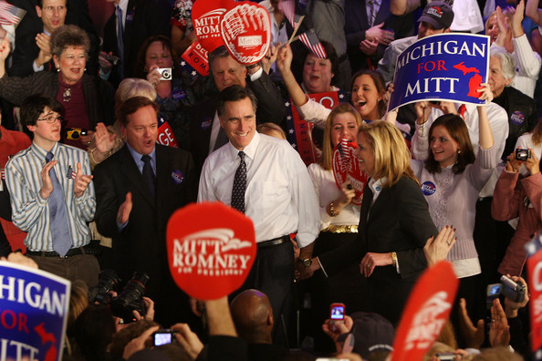 Mitt at Michigan